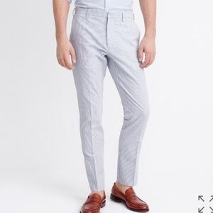 JCrew Thompson seersucker pant